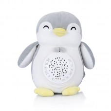 Chipolino Musical plush toy with projector Penguin