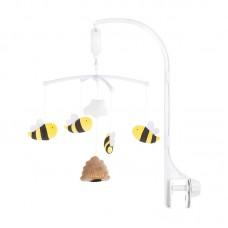 Chipolino Musical mobile for bed Honey