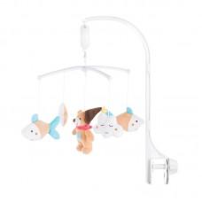 Chipolino Musical mobile for bed Teddy bear