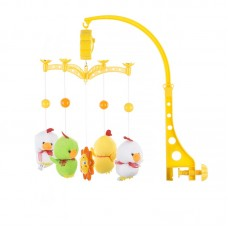 Chipolino Musical mobile for bed, Two white ducks
