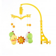 Chipolino Musical mobile for bed, Two green ducks