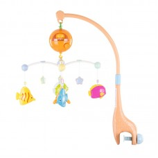 Chipolino Musical mobile for bed, Merry fish