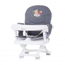 Chipolino Booster chair Lollipop graphite