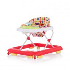 Chipolino Baby walker Carrera red