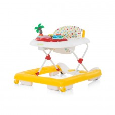 Chipolino Baby walker 3 in 1 Jolly  yellow dots