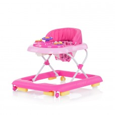 Chipolino Baby walker Carrera pink