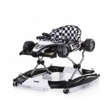 Chipolino Racer 4 in 1 Baby Walker, black and white