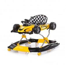 Chipolino Racer 4 in 1 Baby Walker, yellow