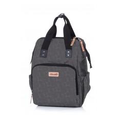 Chipolino Backpack/diaper bag, asphalt