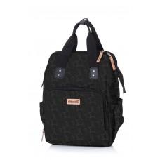 Chipolino Backpack/diaper bag, carbon