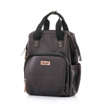 Chipolino Backpack/diaper bag brown leather
