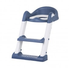 Chipolino Toilet trainer seat with ladder Tippy, blue