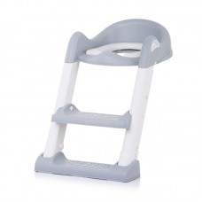 Chipolino Toilet trainer seat with ladder Tippy, grey