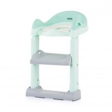Chipolino Toilet trainer seat with ladder Tippy, green