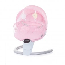 Chipolino Electric musical baby cradle Yoga, peony pink