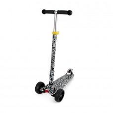 Chipolino Kid's toy scooter Croxer Evo black/white
