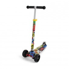 Chipolino Kid's toy scooter Croxer Evo city graffiti