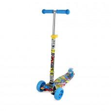 Chipolino Kid's toy scooter Croxer Evo colorful grafitti