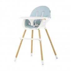 Chipolino High chair 2 in 1 Rio, peony blue