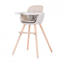 Chipolino Baby High chair 2 in 1 Woody mocca