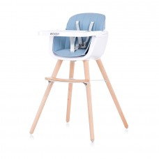 Chipolino Baby High chair 2 in 1 Woody sky