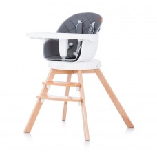 Chipolino Rotatable High chair 3 in 1 Rotto graphite