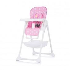 Chipolino Bandi Baby High Chair pink