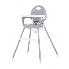Chipolino Стол за хранене 3 в 1 Бонбон, сив