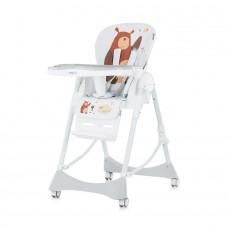 Chipolino Cookie Baby High Chair bear