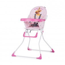 Chipolino Teddy Baby High Chair orchid