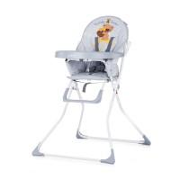 Chipolino Teddy Baby High Chair grey