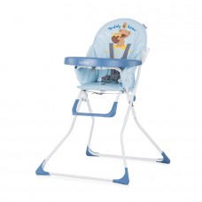Chipolino Teddy Baby High Chair sky