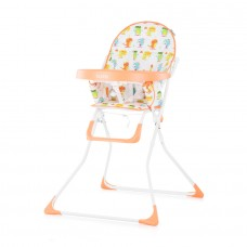 Chipolino Teddy Baby High Chair orange