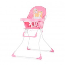 Chipolino Teddy Baby High Chair pink