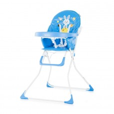 Chipolino Teddy Baby High Chair blue