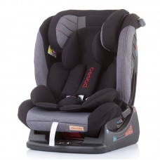 Chipolino Car seat groups 0+,1,2,3 Paseo, asphalt