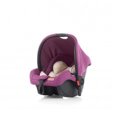 Chipolino Car seat with adaptor Avia orchid linen