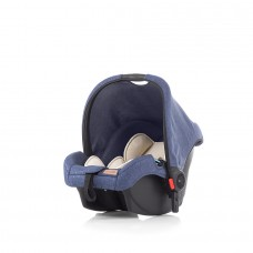 Chipolino Car seat with adaptor Avia blue linen