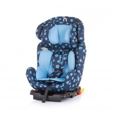 Chipolino Car seat groups 0+,1,2,3 Campo Isofix dots sky
