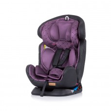 Chipolino Car seat groups 0+,1,2,3 4 in 1 orchid