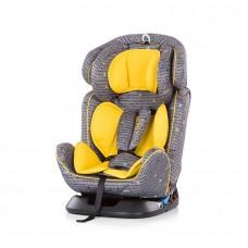 """Chipolino Стол за кола група 0+,1,2,3  """"4 в 1"""" медено жълто"""