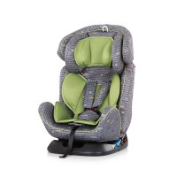 Chipolino Car seat groups 0+,1,2,3 lime