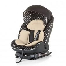 Chipolino Столче за кола с Isofix Мондо 0-25 кг карамел