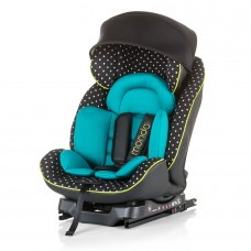 "Chipolino Car seat Isofix 0-25 kg ""Mondo"" mint"