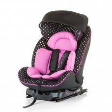 "Chipolino Car seat Isofix 0-25 kg ""Mondo"" rose"