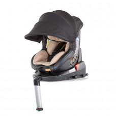 Chipolino Столче за кола Толедо изофикс (0-18 кг) със сенник фрапе