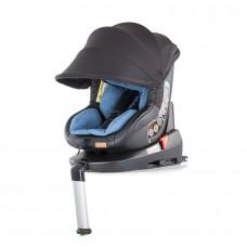Chipolino Столче за кола Толедо изофикс (0-18 кг) със сенник син