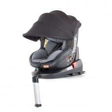 Chipolino Столче за кола Толедо изофикс (0-18 кг) със сенник сив