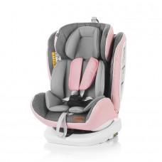 Chipolino Car seat groups 0+,1,2,3 Tourneo Isofix rose pink