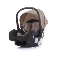 Chipolino Car seat Estelle 0-13 kg with adapter, latte